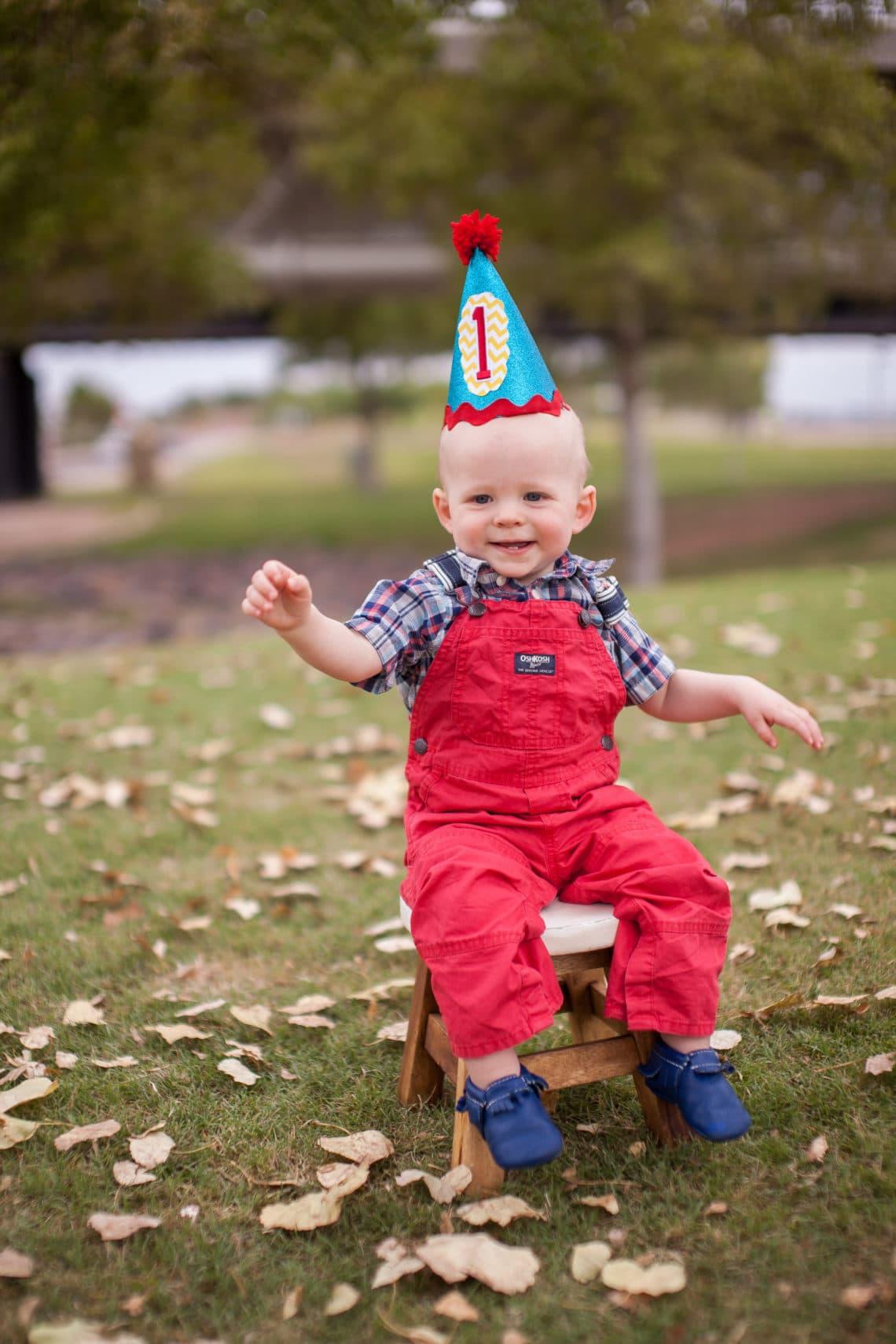 baby's 1st birthday photo shoot