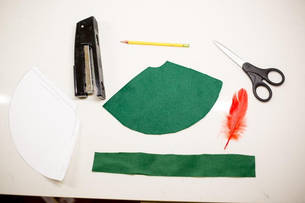 DIY no sew Peter Pan Hat