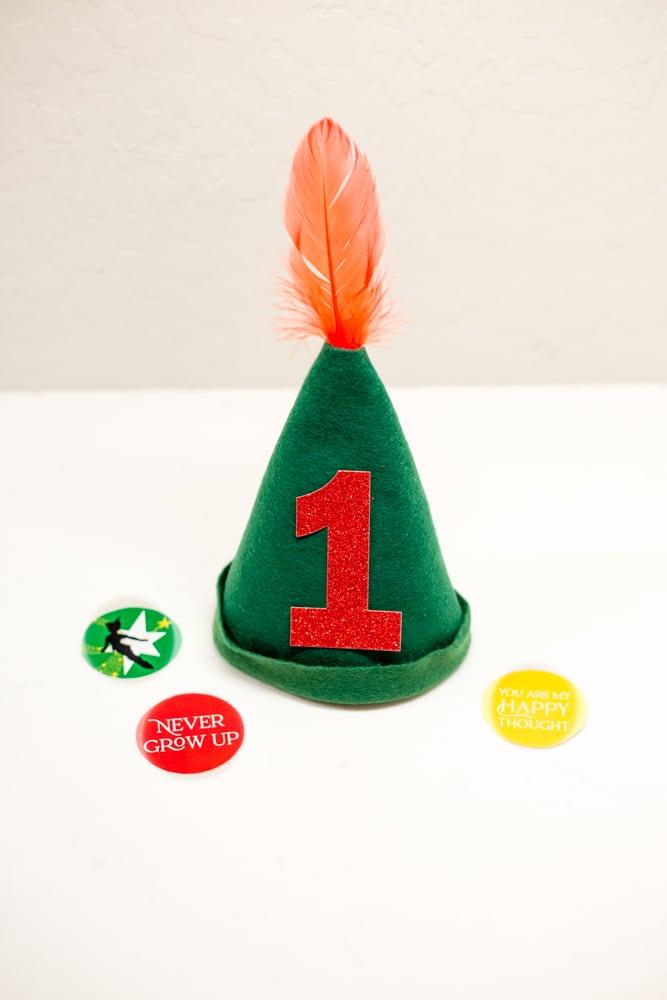 Peter Pan Birthday Hat