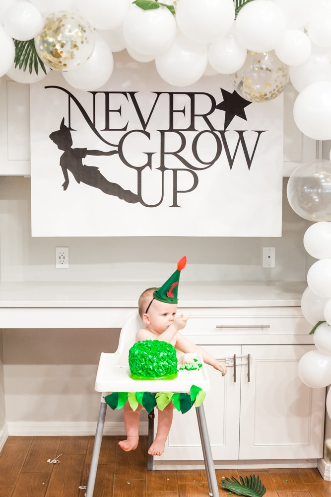 Never Grow Up Party Hat