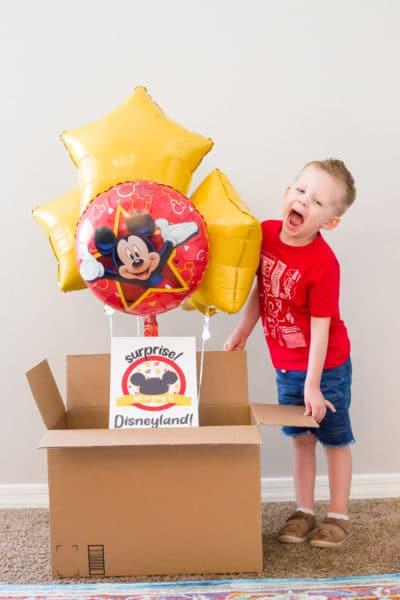 Surprise Disney Trip Reveal