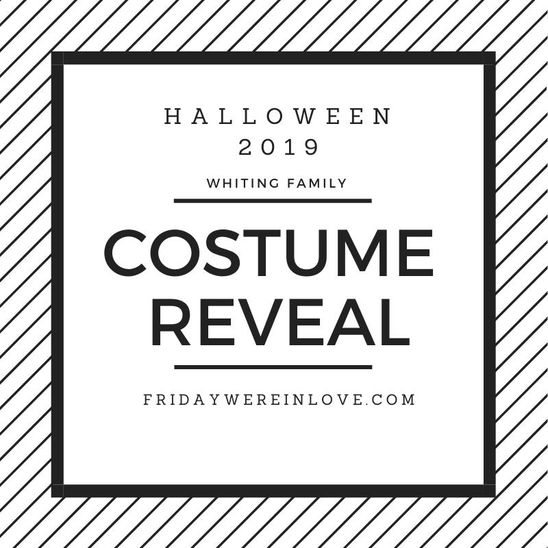 2019 Family Halloween Costume Reveal