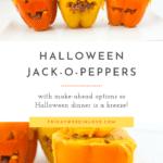 Halloween Jack-o-Peppers Recipe