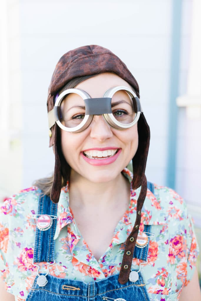 Vintage Aviator Goggles