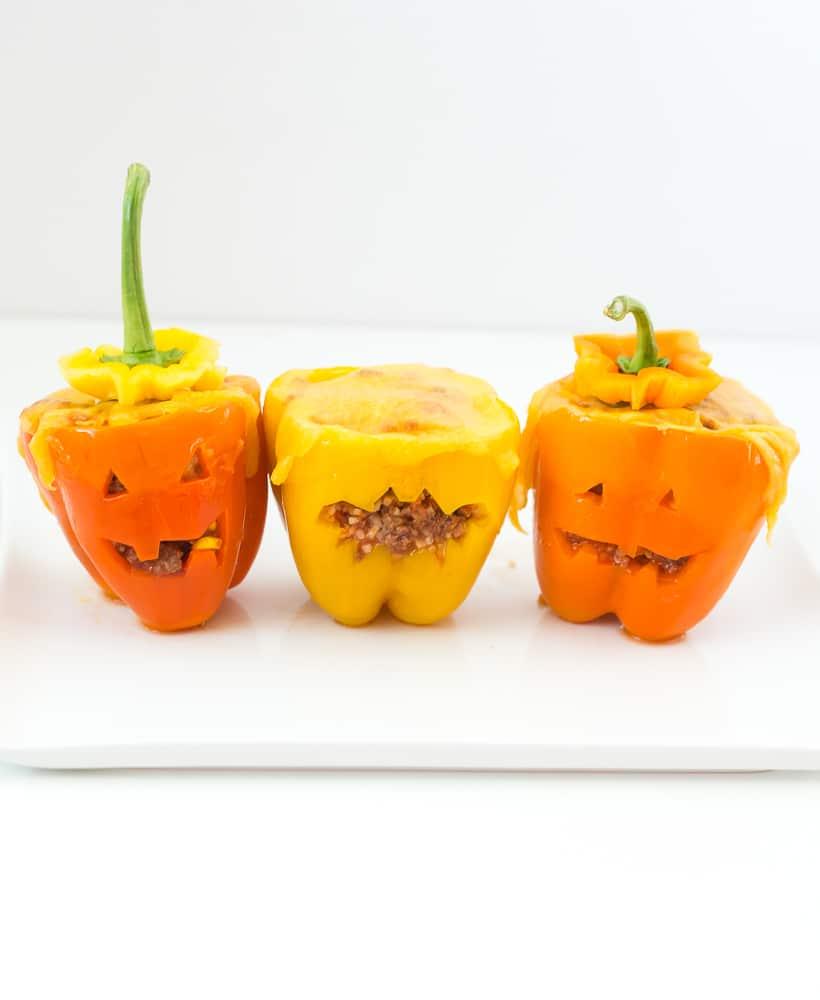 Halloween Bell Peppers