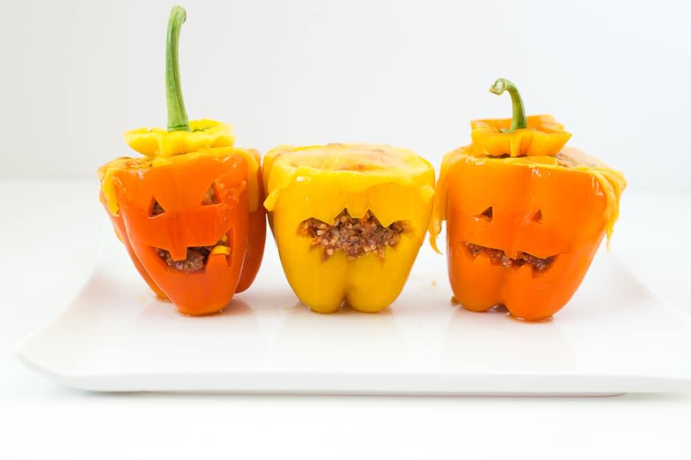 Halloween Stuffed Pappers
