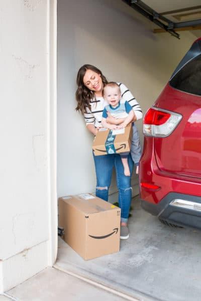 Amazon Garage Delivery