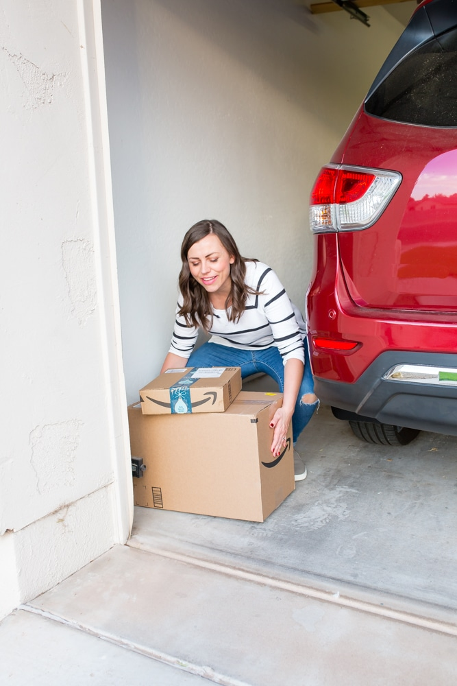 Garage Package Delivery