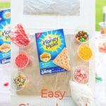 Easy Tutorial for Graham Cracker Gingerbread House