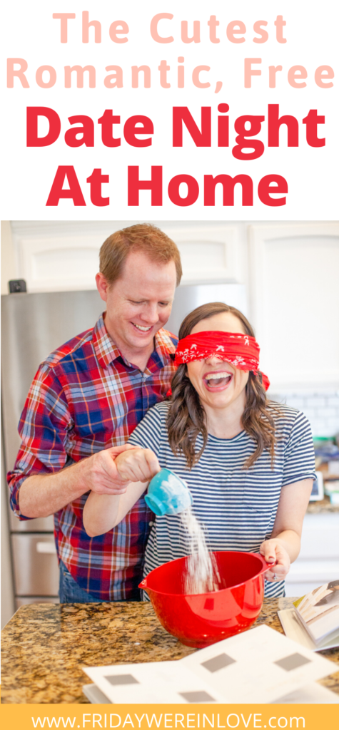 Blindfold Baking Romantic Date Night At Home