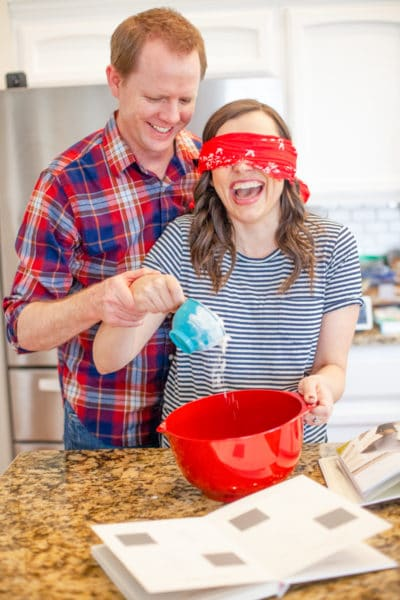 Blindfold Baking Date Night