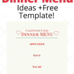 How to Create a Valentine's Day Dinner Menu
