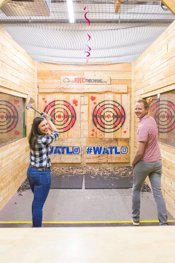 Axe Throwing Places