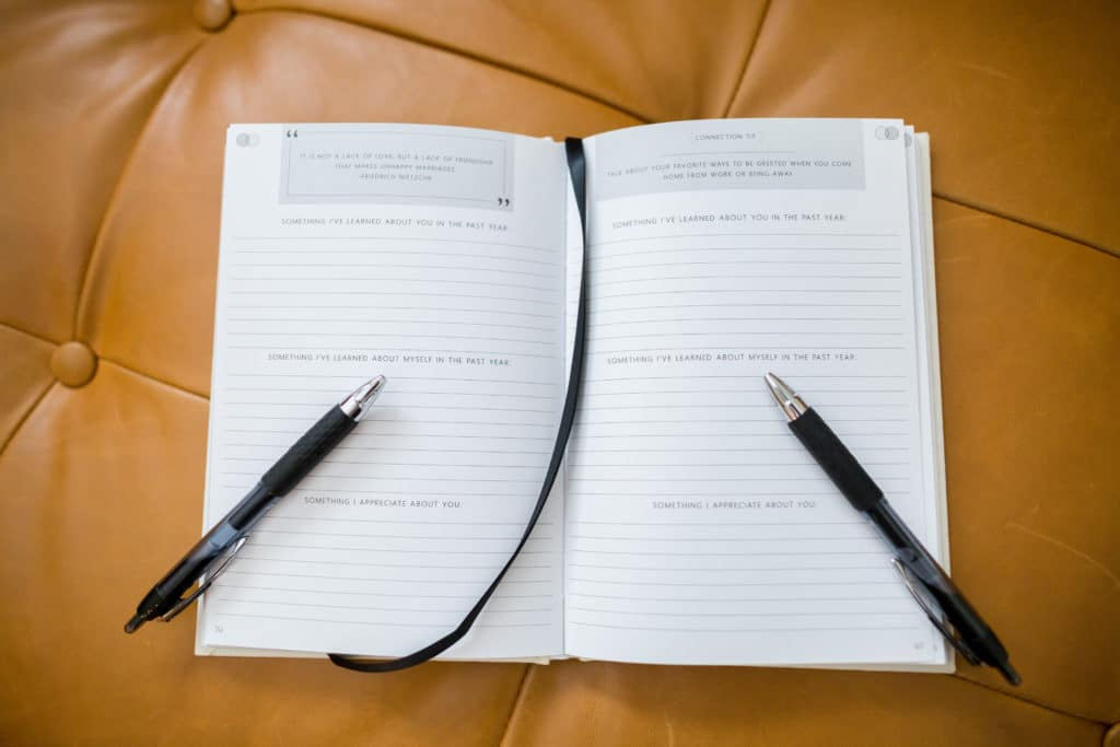 Couple Writing Prompts Journal