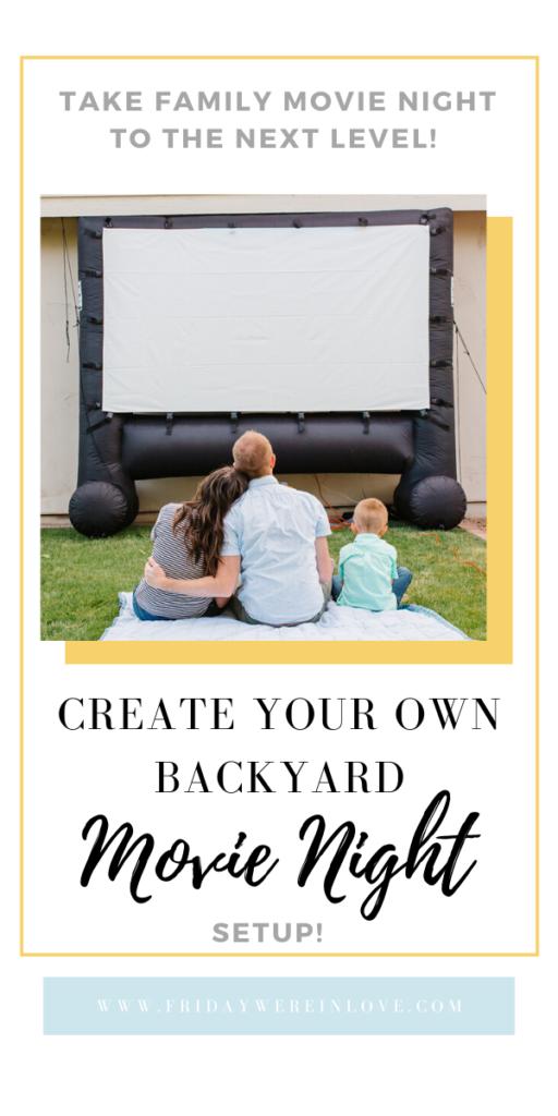 Backyard Movie Ideas