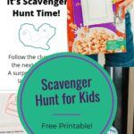 Scavenger Hunt for Kids with Free Printable