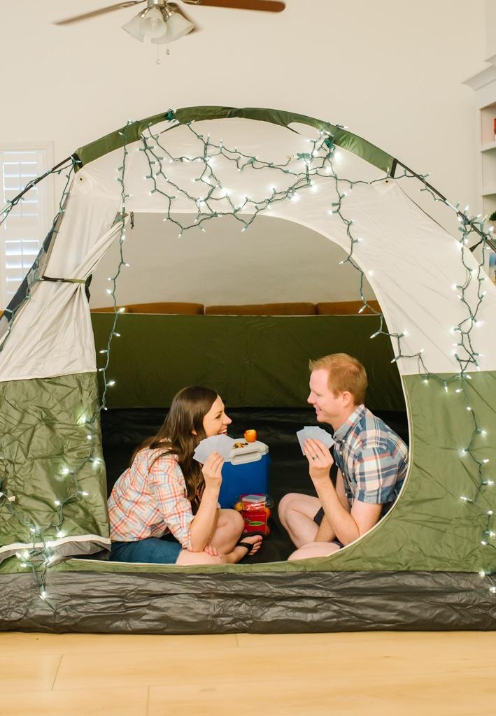 Indoor Camping Date