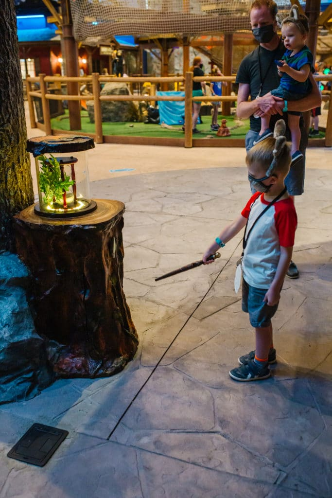 MagiQuest Game Great Wolf Lodge