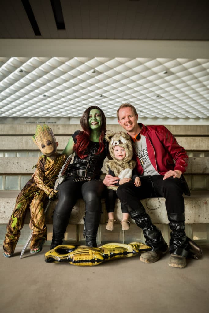 Guardians of the Galaxy Cosume