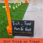 Trick or Treating 2020 DIY Candy Pass Out Station