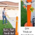 DIY Trick or Treat Clothesline