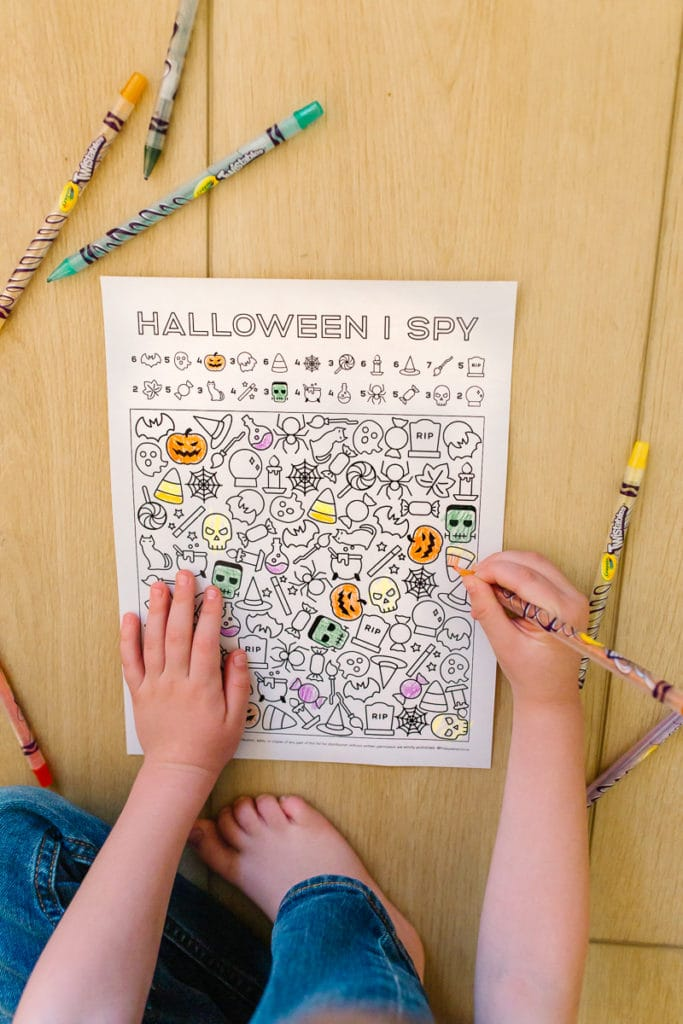 I Spy: At Home Fun Halloween Activity for Kids