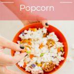 Sweet and Salty Halloween Popcorn