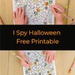 I Spy Halloween Printable