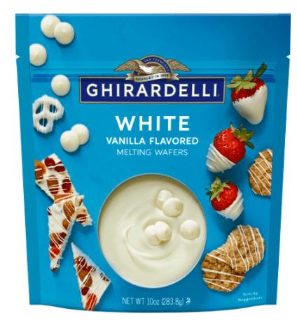 Ghirardelli White Melting Wafers - 10 oz.