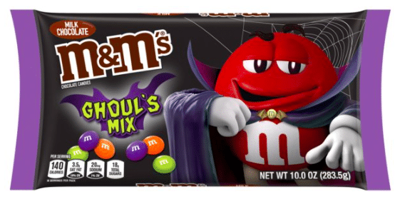 M&M'S Milk Chocolate Candy, Halloween Ghoul's Mix
