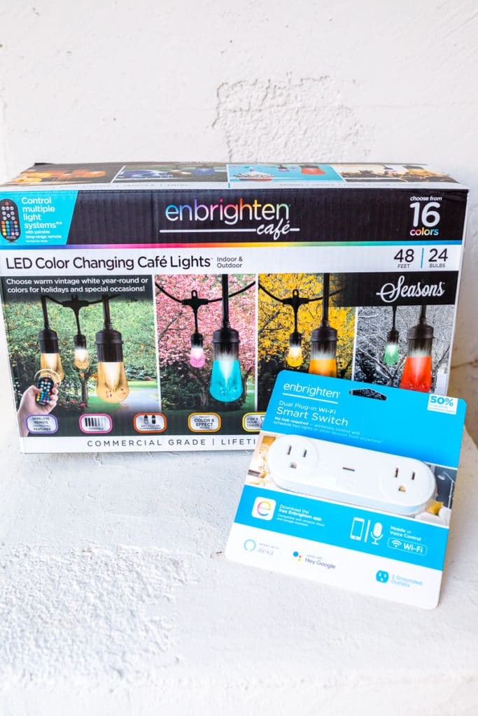 Smart Home Holiday Lights