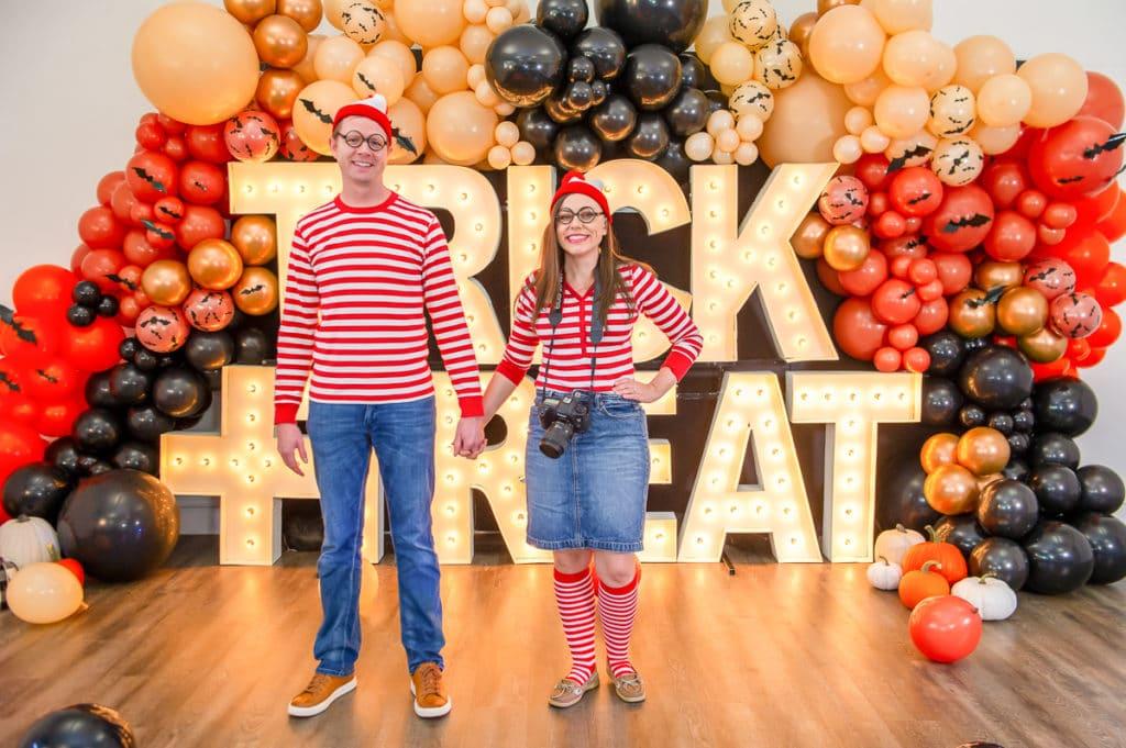 Where's Waldo and Wenda Costume