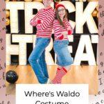Where's Waldo Couple Costume