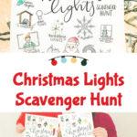 Christmas Lights Scavenger Hunt