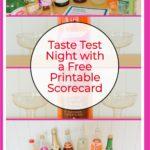 Taste Test Ideas and Free Printable