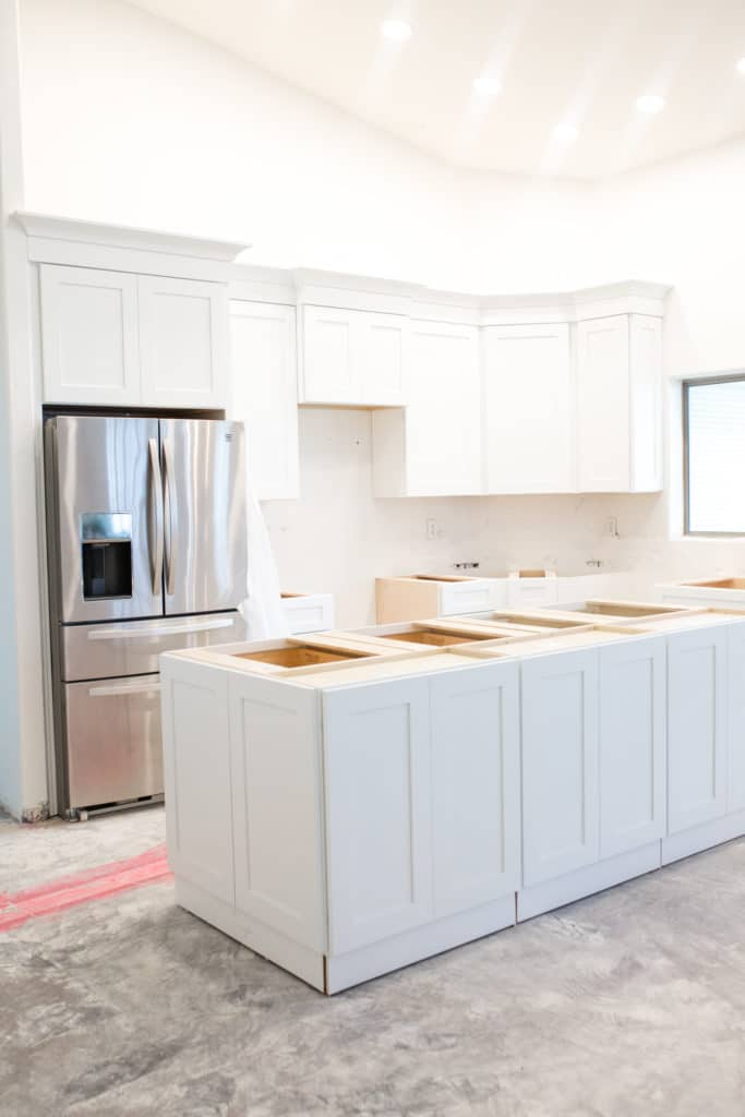 Kitchen Backsplash with White Cabinets: Our Mid Century Modern Backsplash Reveal
