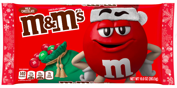 M&M'S Milk Chocolate Candy, Christmas Candy