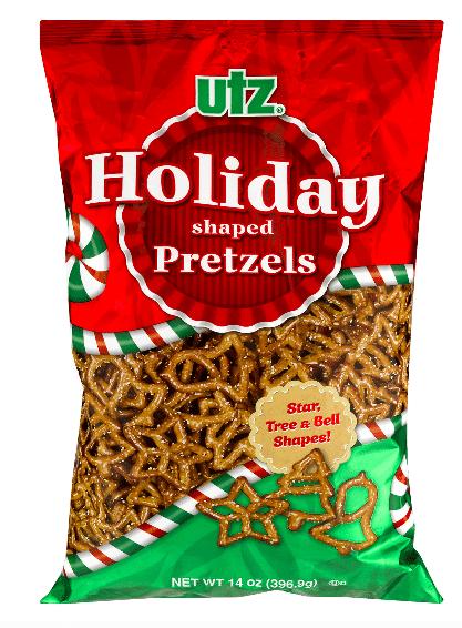 Holiday Shaped Pretzels