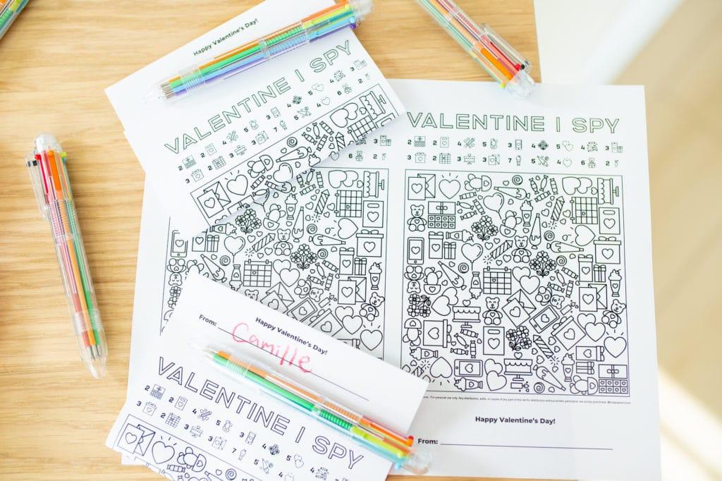 Valentine Activity Printable
