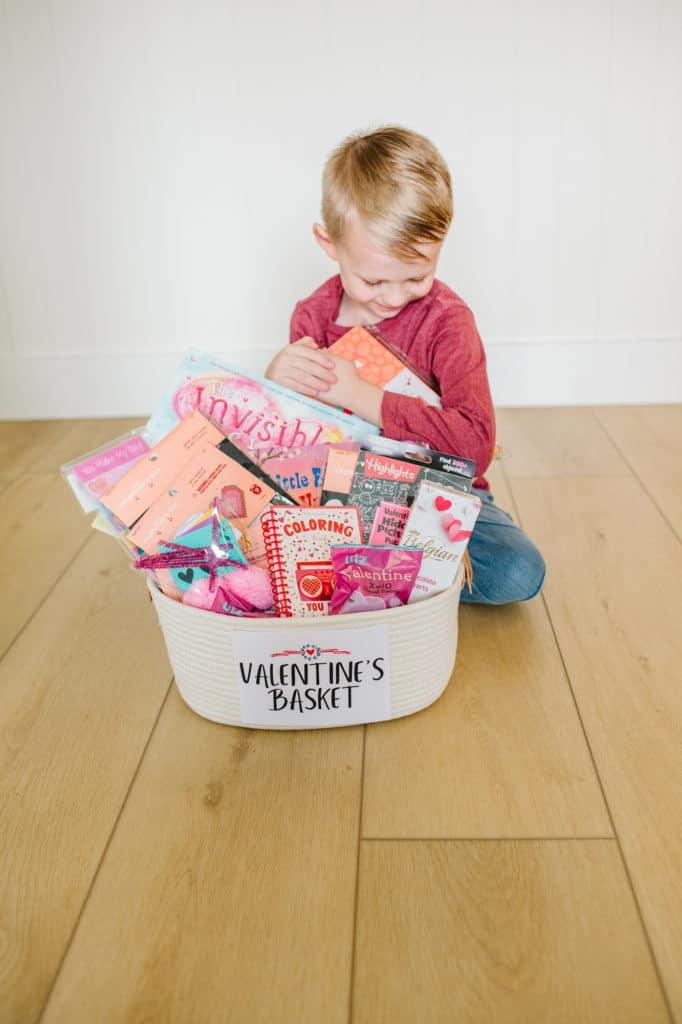Valentine Basket for Kids