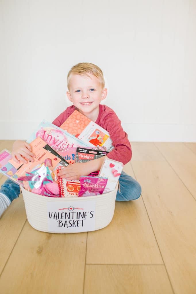 Valentines Day Baskets for Kids