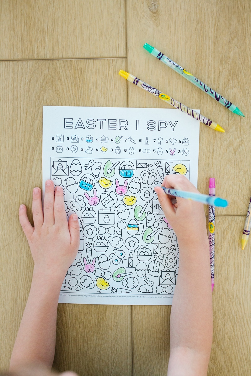 Printable Easter Activity