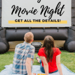 Create Your Own Outdoor Movie Theater for Backyard Movie Nights