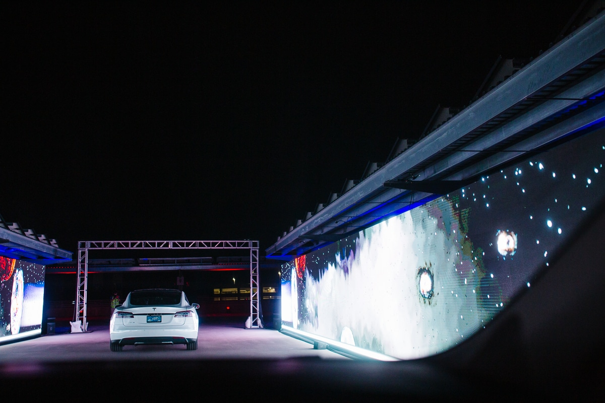 Drive Through Light Show