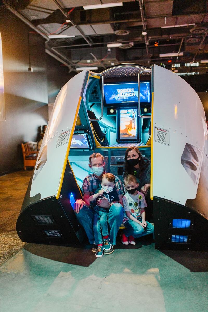 Space Museum Space Exhibit