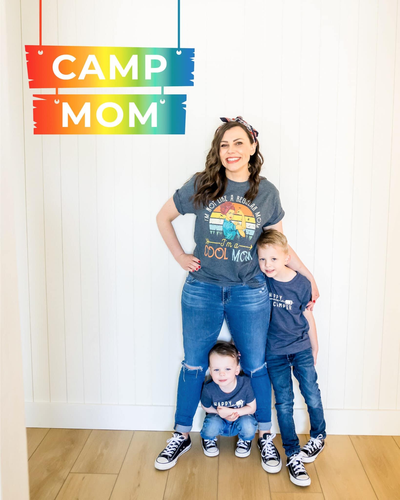 Fun Summer Camp Ideas at Home