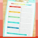 Summer Chore Chart for Kids