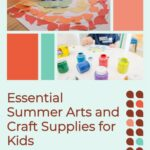 Kids arts and crafts supplies