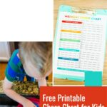 Free Printable Summer Chore Chart for Kids