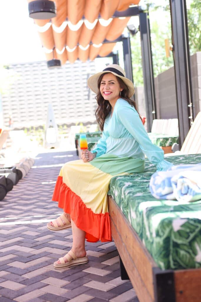 Rainbow Dress for Women
